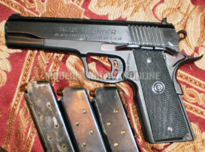 .45 acp handgun