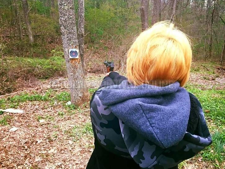 child target practice