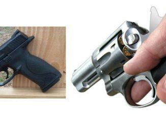 revolver versus semi auto