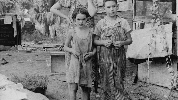 american family during the great depression