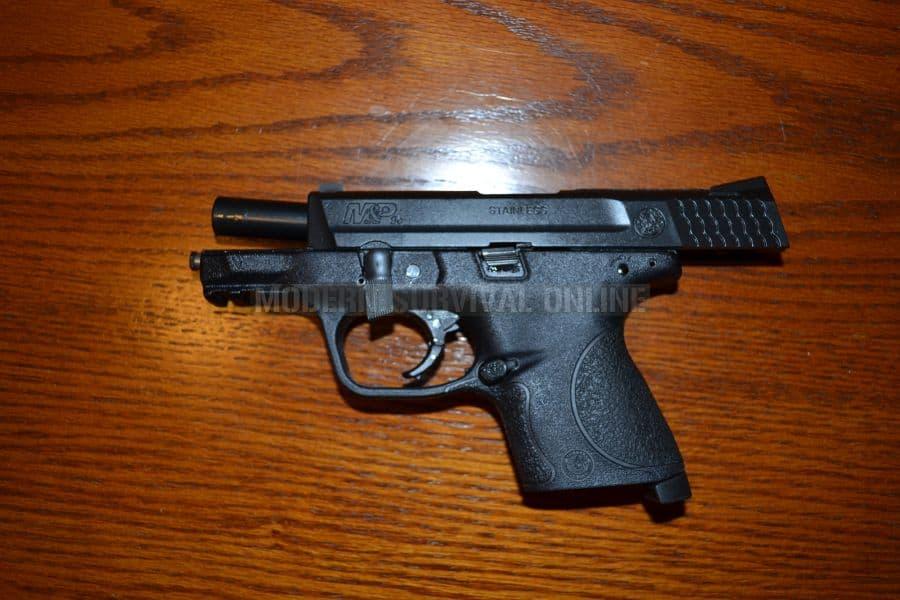 M&P9c takedown lever