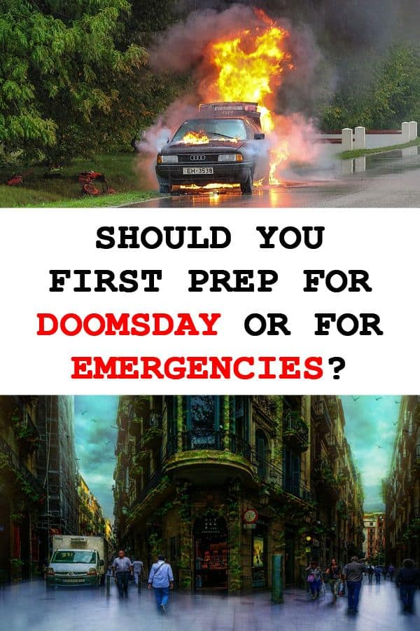 doomsday vs everyday emergencies