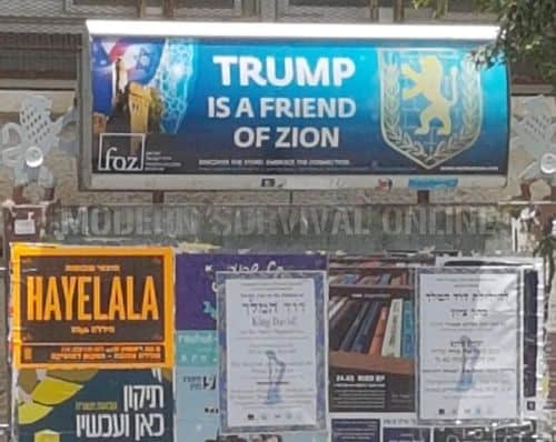 trump is a friend of zion