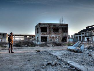 city ruins
