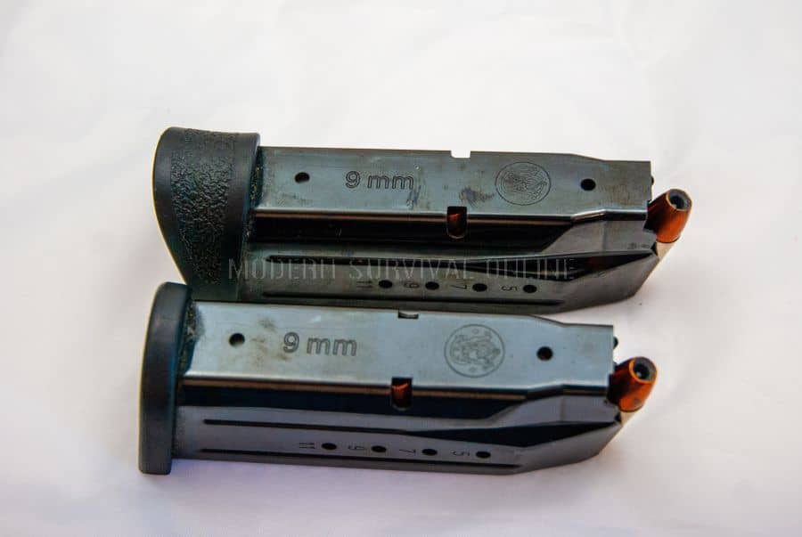 S&W M&P 9 mags