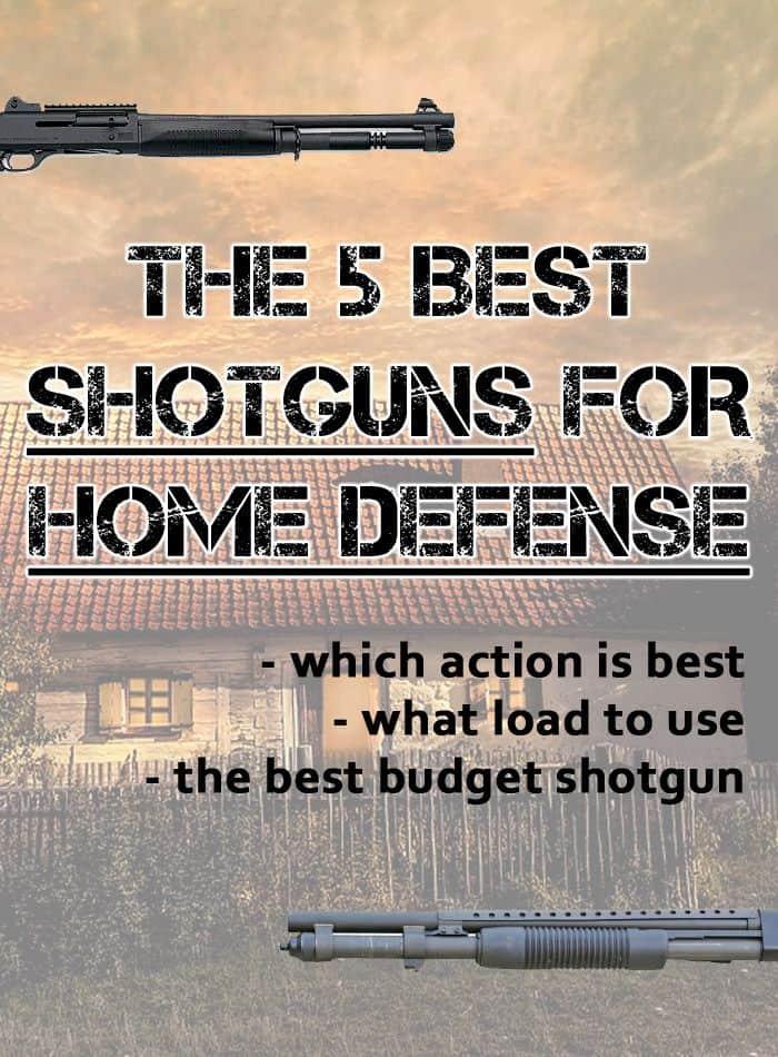 best guns home defense pin