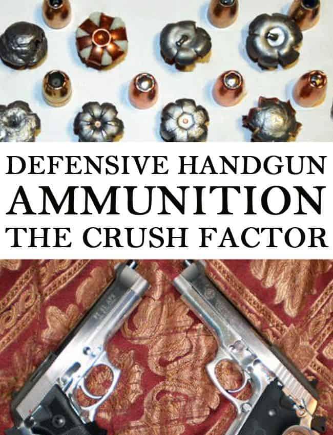defensive handgun ammo pin
