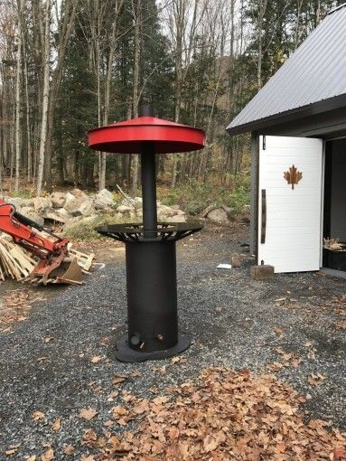outdoor wood furnance