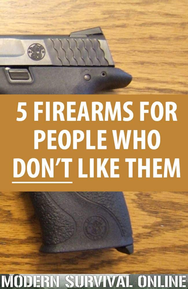 firearms for people who hate them pin