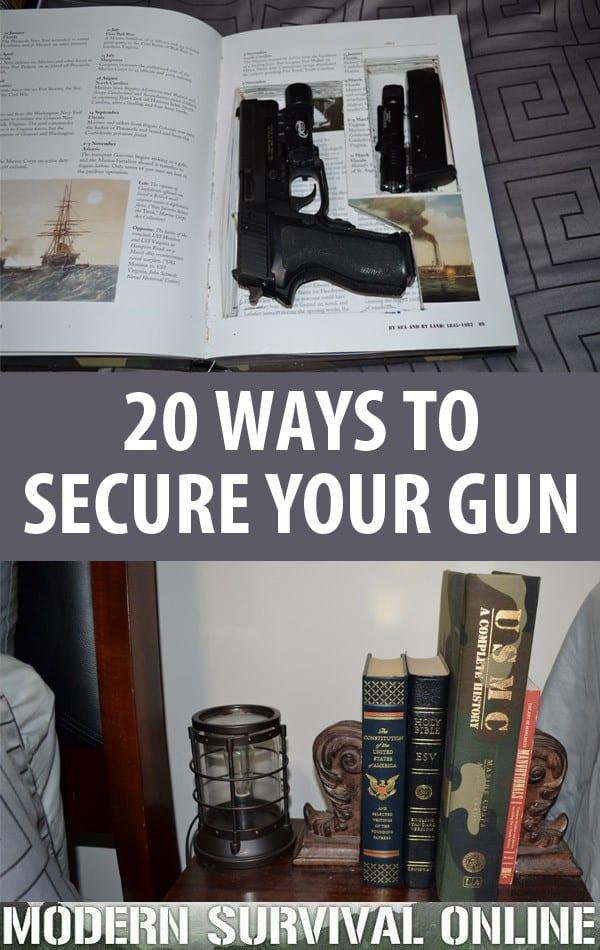 secure your gun pin