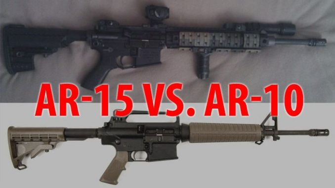 AR-10 vs AR-15 Which Should You Choose