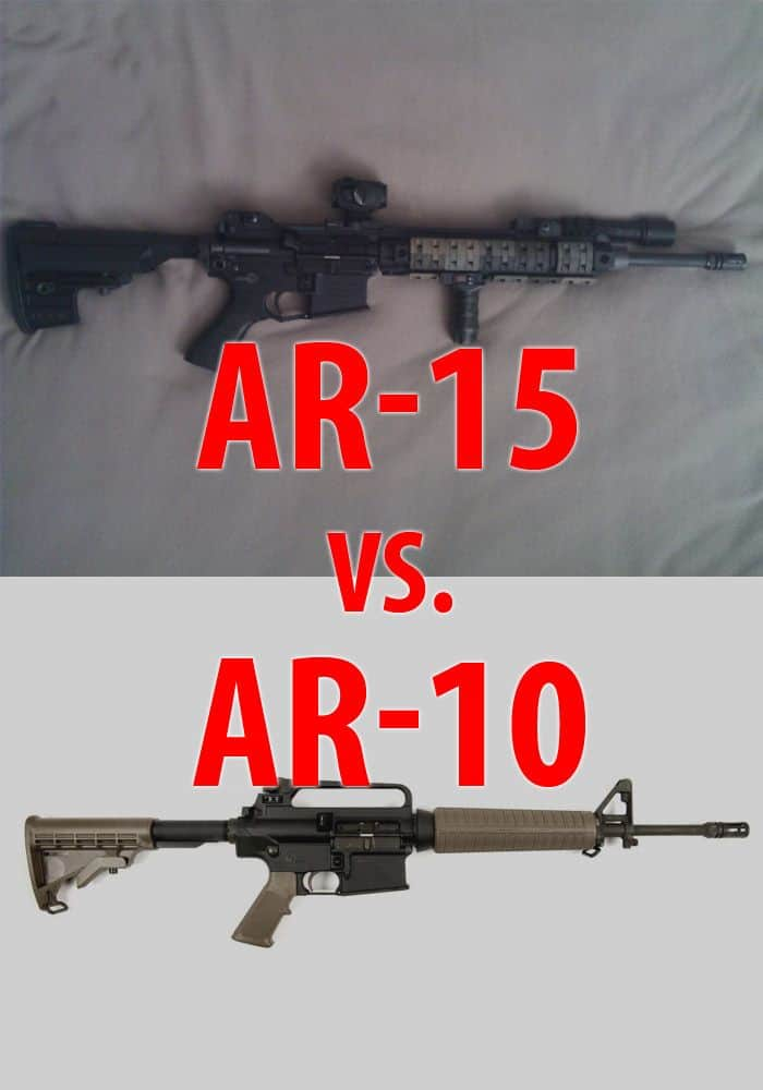 AR-15 VS AR-10 PINTEREST