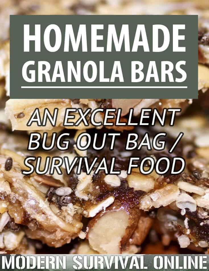 homemade granola bar pinterest