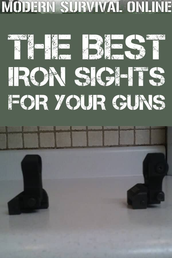 best iron sights pin
