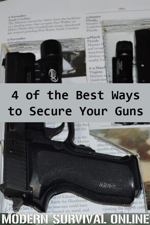 securing your guns pin