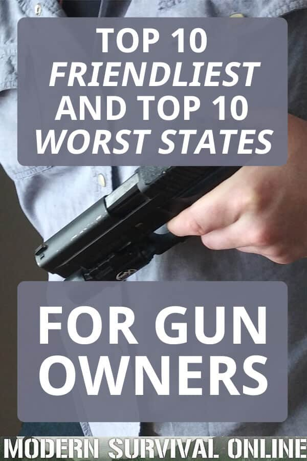 top friendliest places for guns pinterest