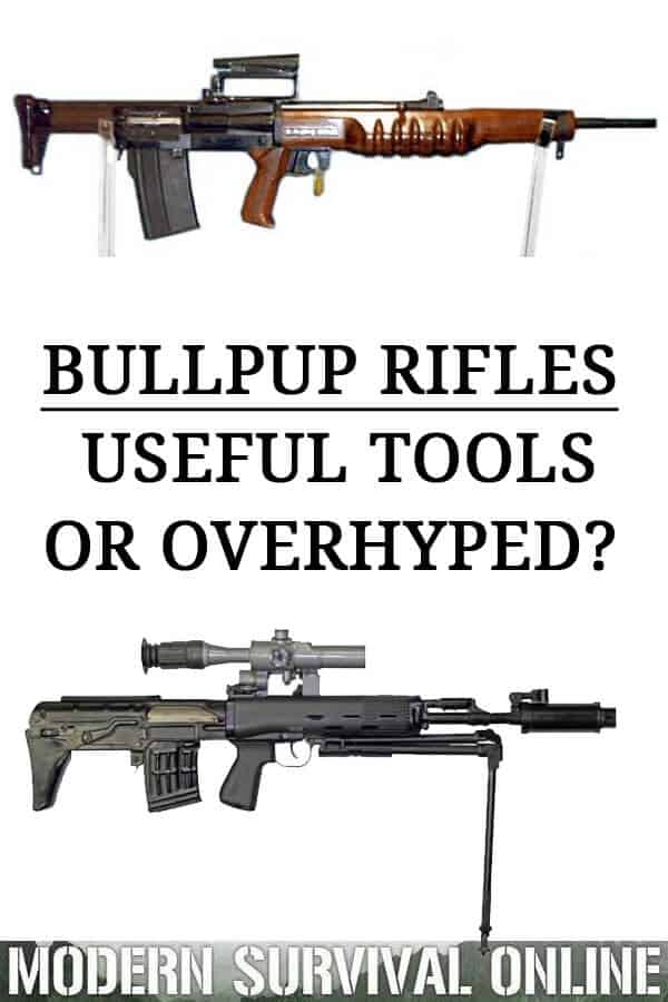 bullpup rifles pin