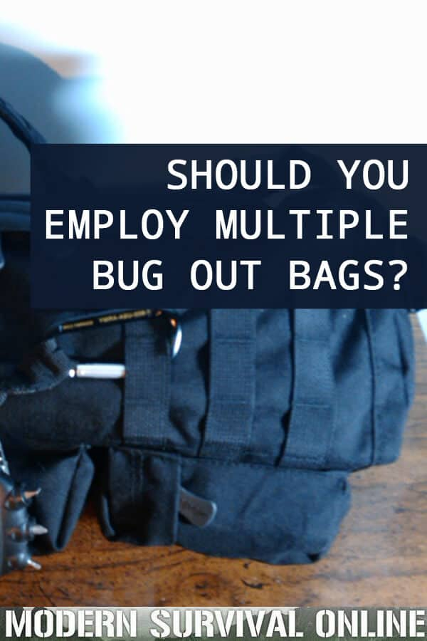 multiple bug out bags pin