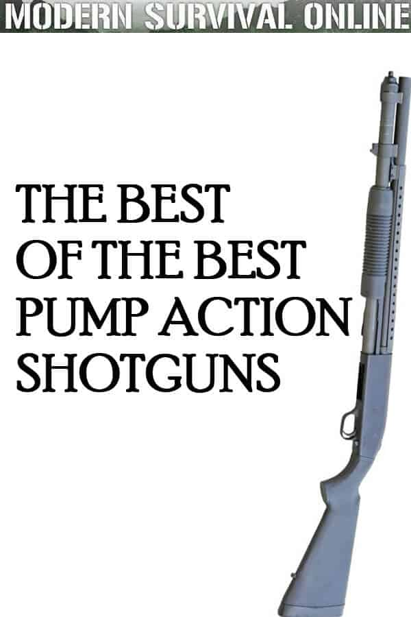 best pump action shotguns pinterest