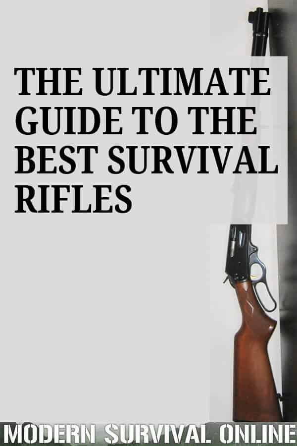 best survival rifles pin