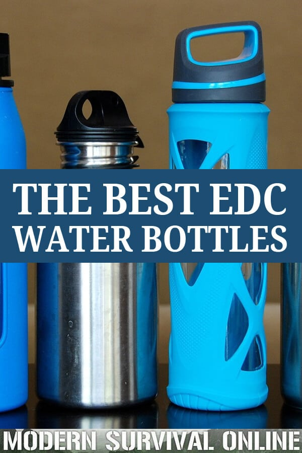 EDC water bottle pinterest
