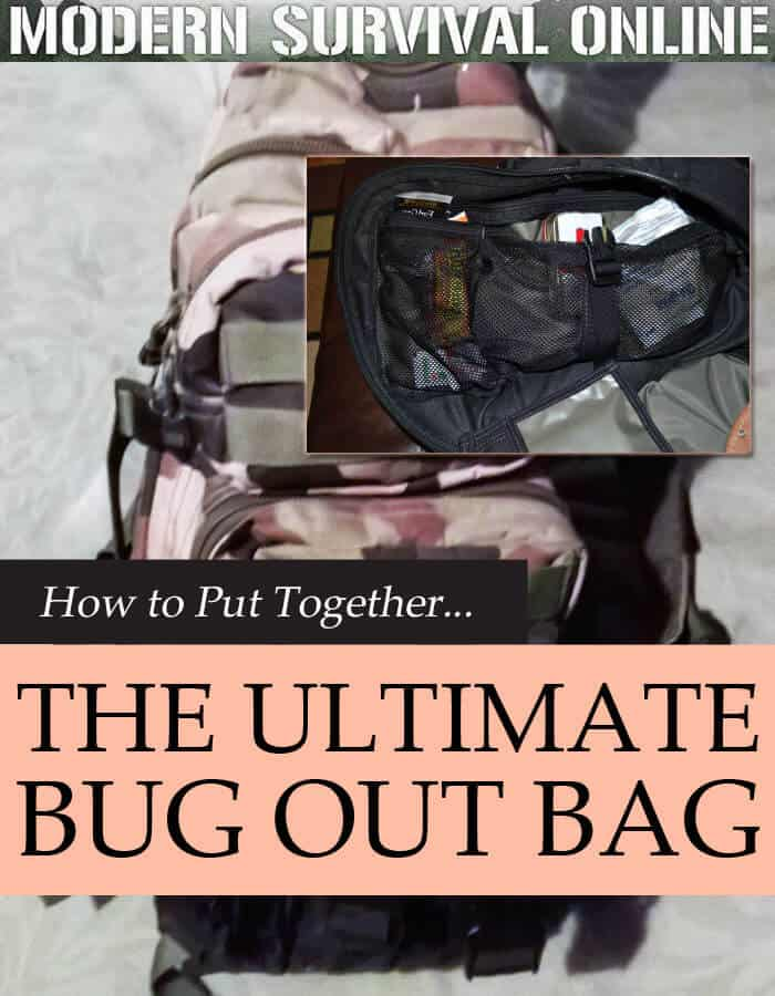 bug out bag pin