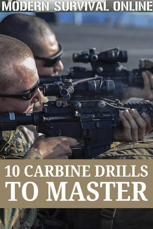 carbine drills to master pinterest
