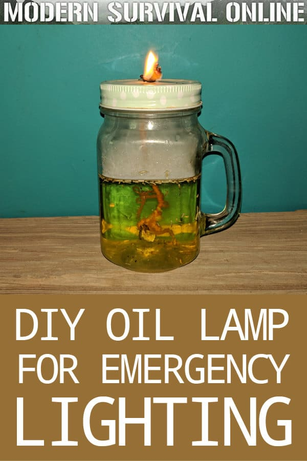 DIY oil lamp pinterest