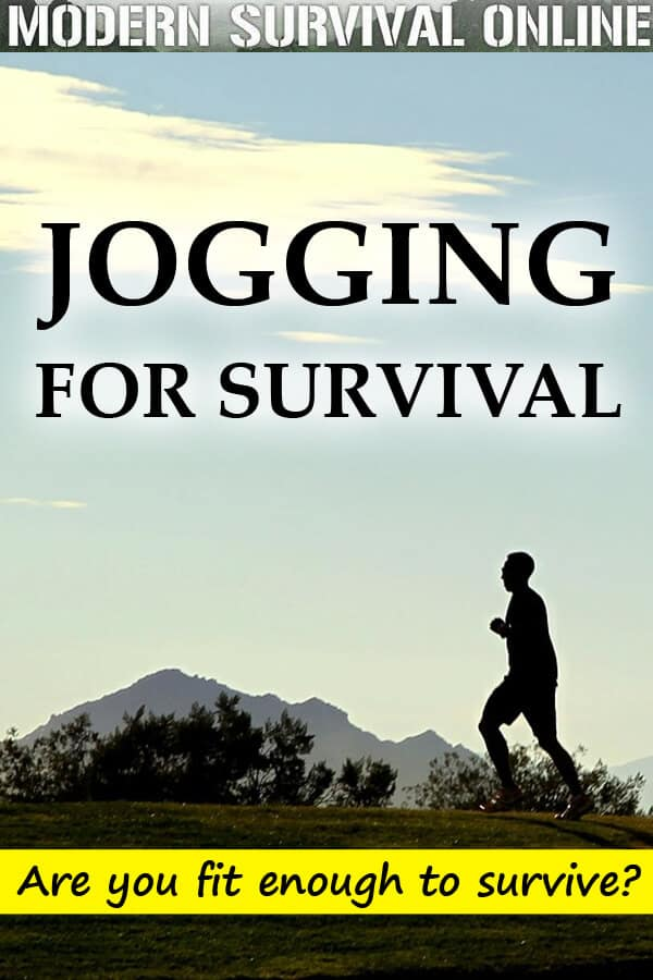 jogging for survival pin