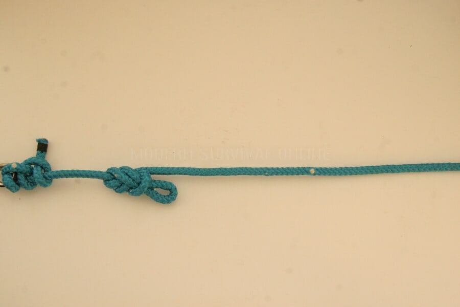 trucker hitch knot 2