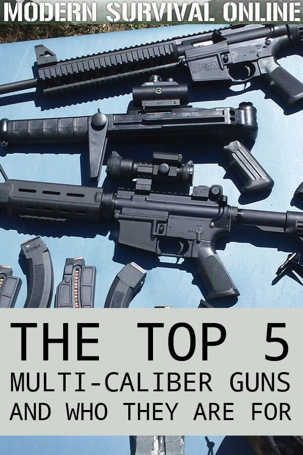 The Top 5 Multi Caliber Guns And Who They Are For