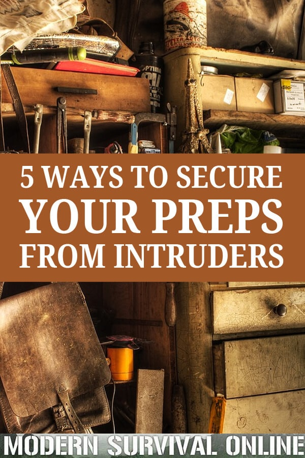 securing your preps Pinterest image