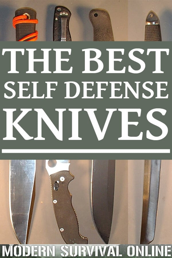 self-defense knives pin