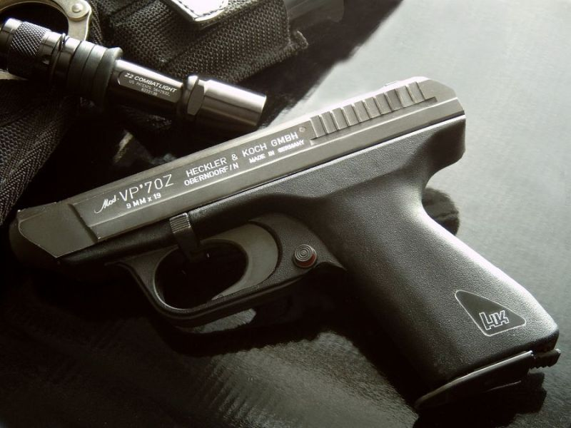 Heckler and Koch VP70 with manual safety