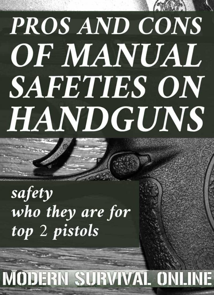 handgun manual safety pinterest