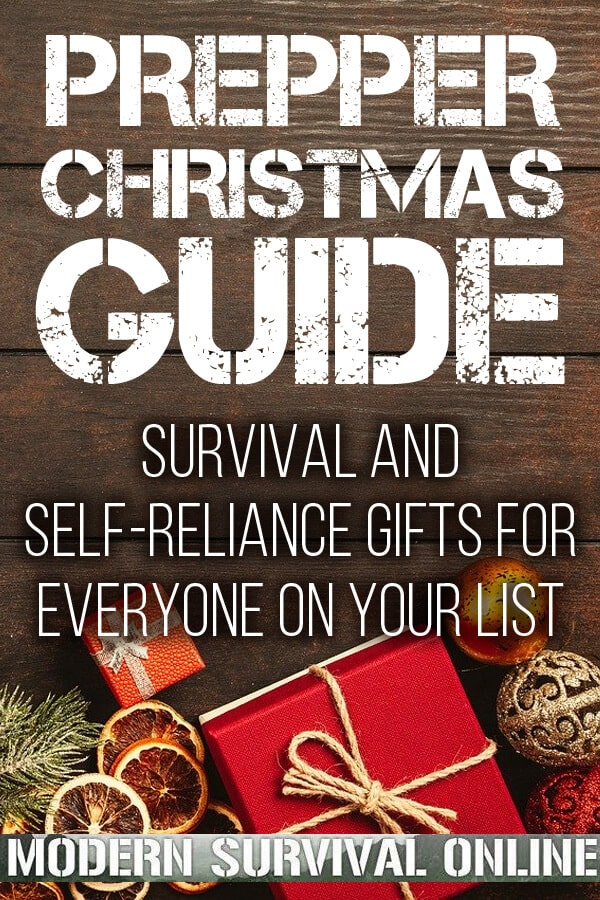 prepper Christmas gifts pinterest