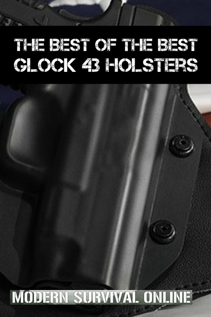 glock 43 holsters pinterest