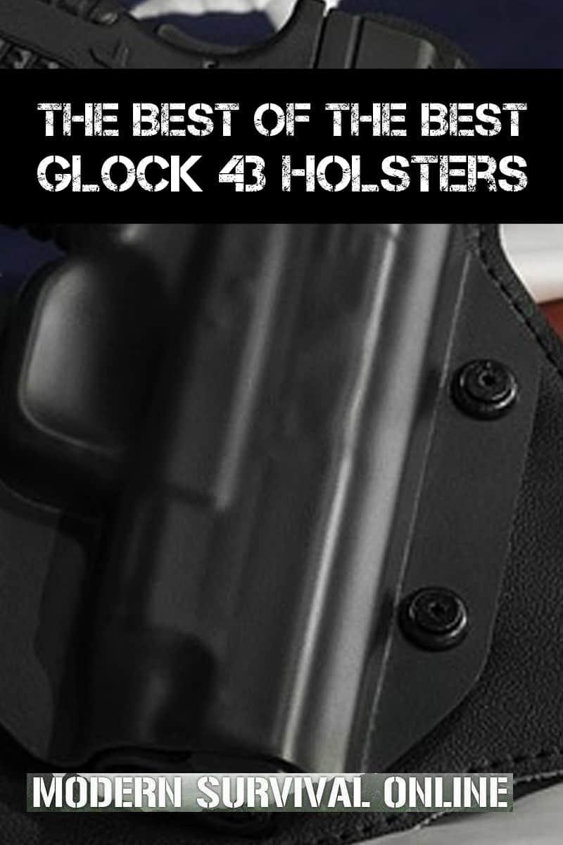 glock 43 holsters pinterest