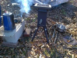 deadwood rocket stove