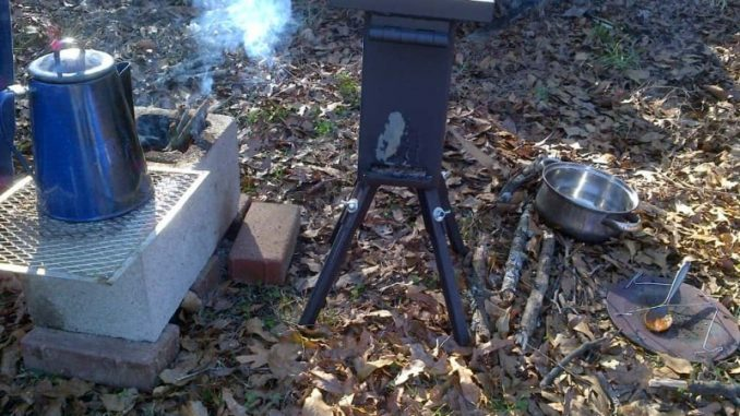deadwood rocket stove