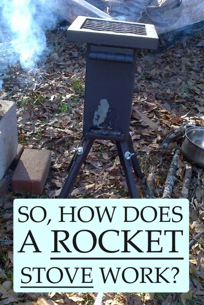 how rocket stoves work pinterest