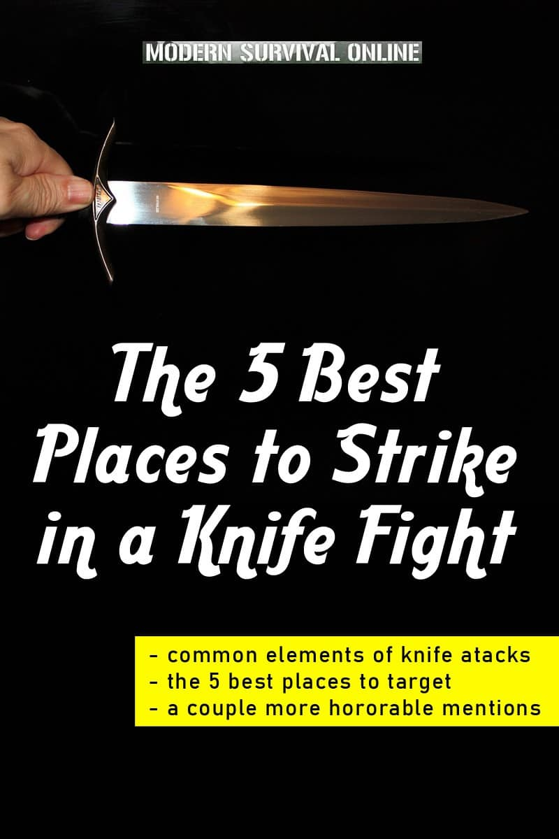 knife fight places to strike pinterest