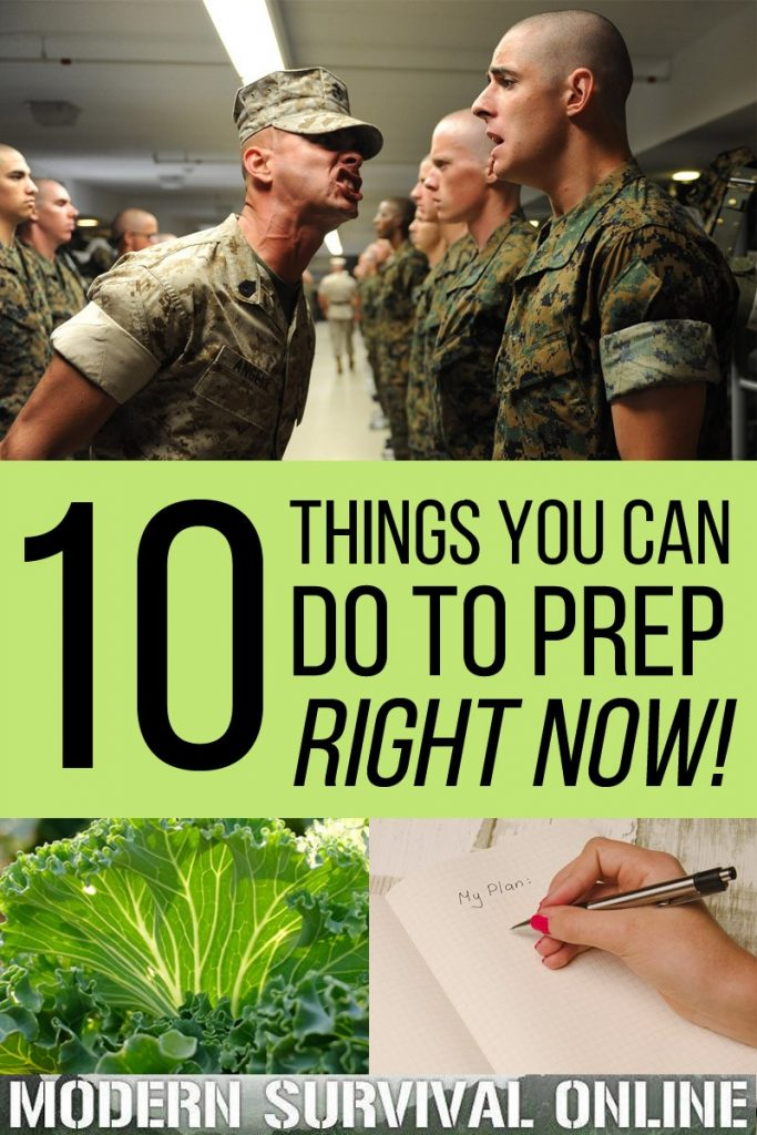 things to do to prep right now pinterest