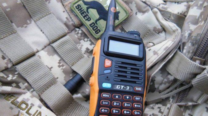 baofeng GT-3 handheld ham radio