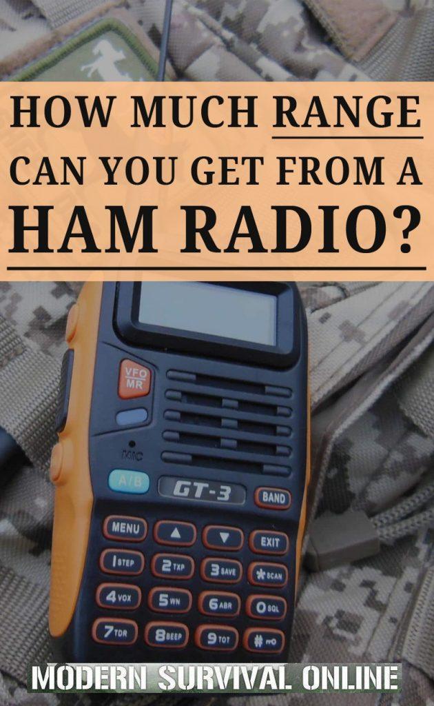 ham radio range pin