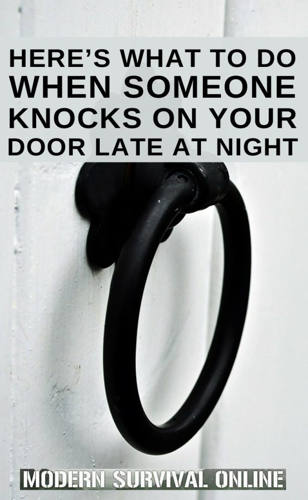 midnight door knocking pinterest