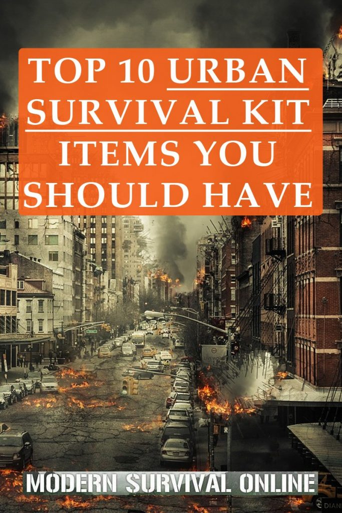 urban survival kit items Pinterest