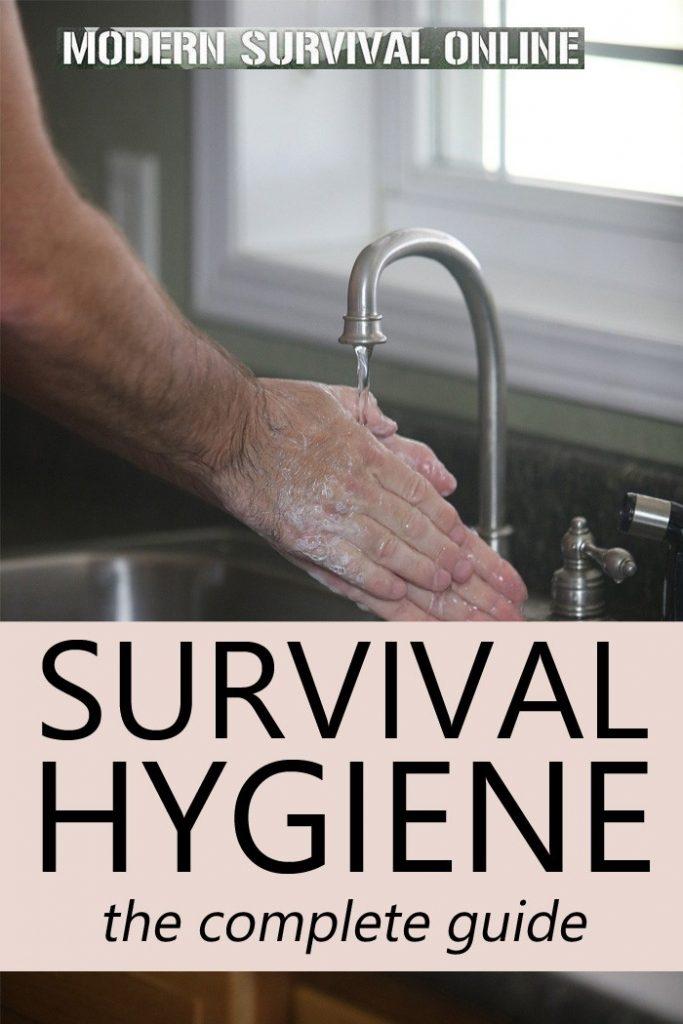 survival hygiene pin
