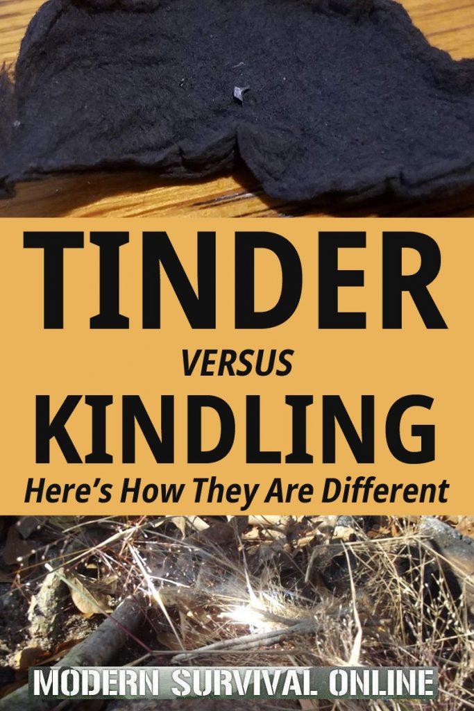 tinder versus kindling Pinterest