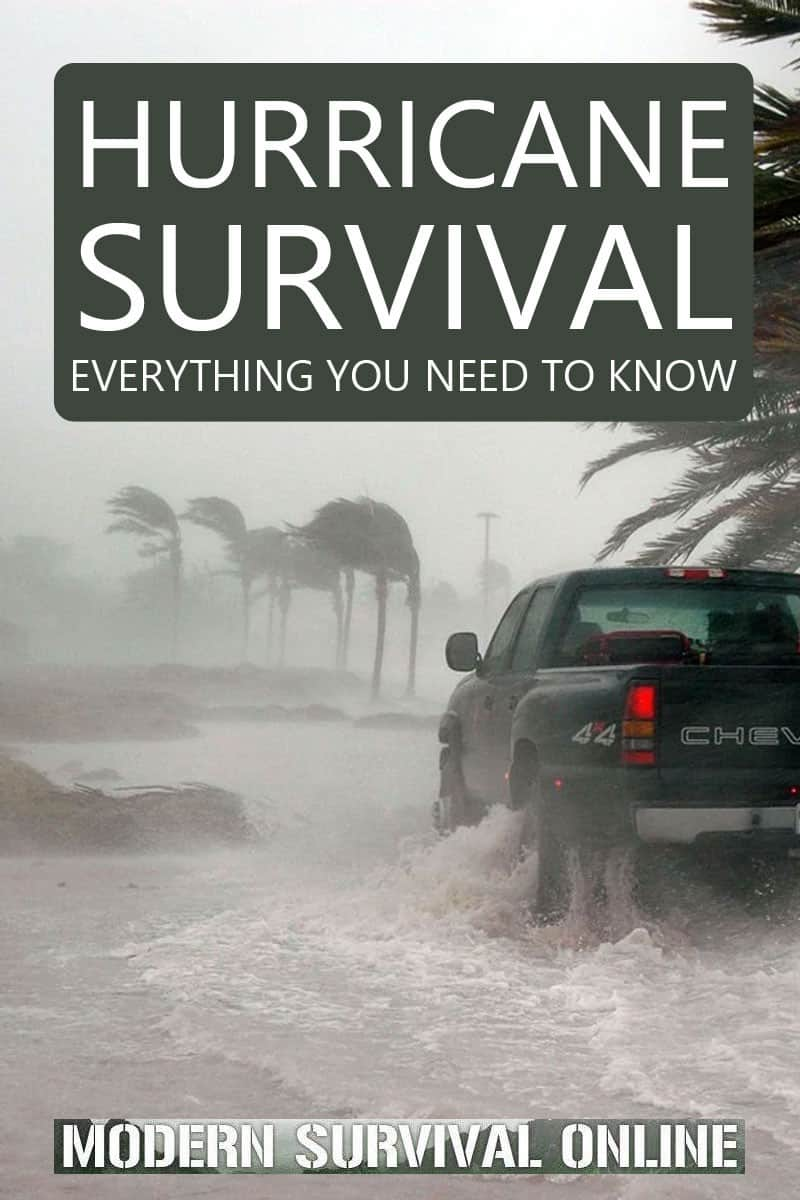 hurricane survival Pinterest image